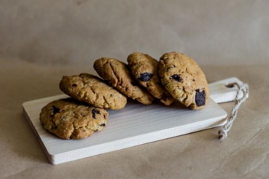 Áfonyás keksz